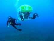 ROV diver